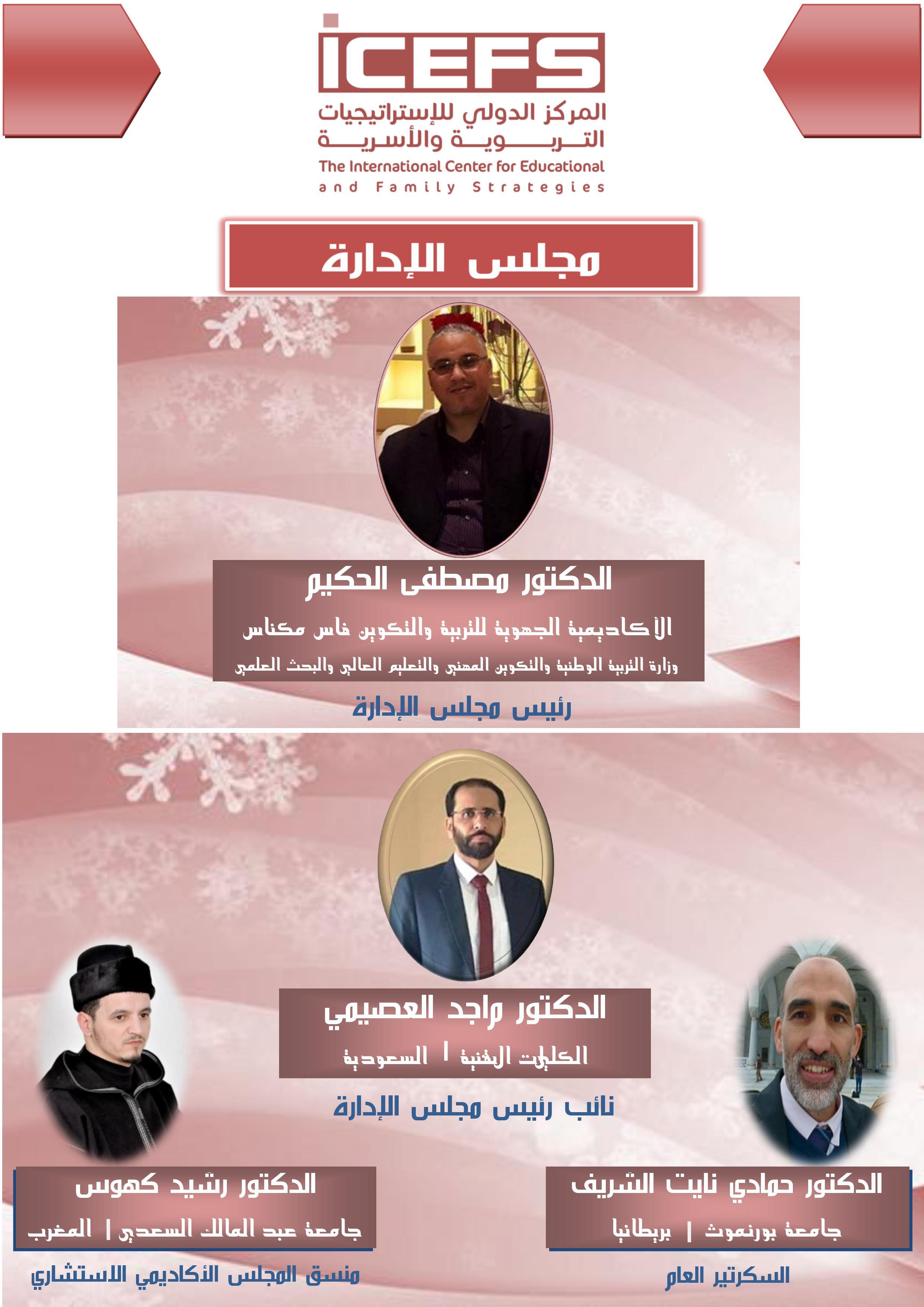 ملصق أعضاء مجلس الإدارة1